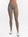 Echt Stretch Leggings - Dune Tan
