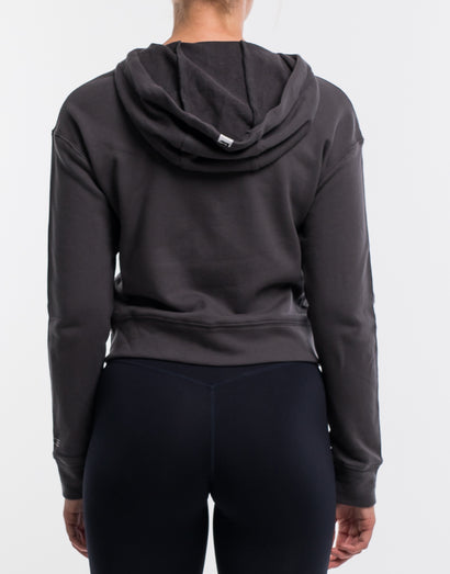Force Cropped Zip-Up - Magnet