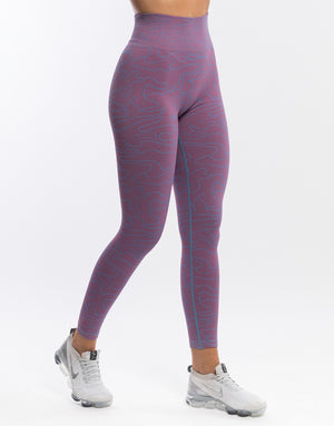 Arise Camo Leggings - Velvet