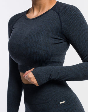 Echt Sensory Long Sleeve - Navy
