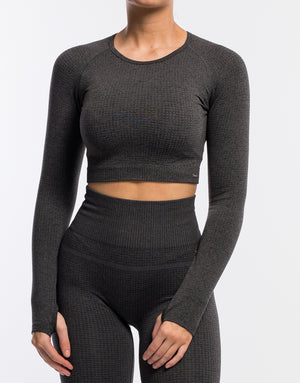 Echt Sensory Long Sleeve - Pirate Black