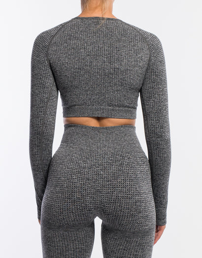 Echt Sensory Long Sleeve - Charcoal