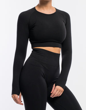 Echt Sensory Long Sleeve - Black