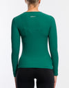 Echt Stretch Long Sleeve - Emerald Green