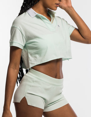 Court Polo - Mint