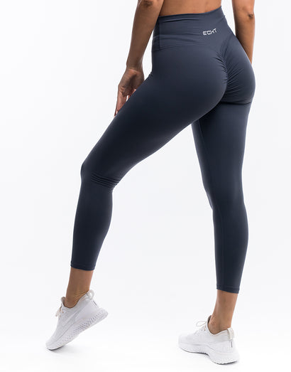 Echt Force Scrunch Leggings - Blue Steel