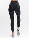 Echt Force Scrunch Leggings - Black Camo