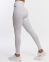 Flock Leggings - White