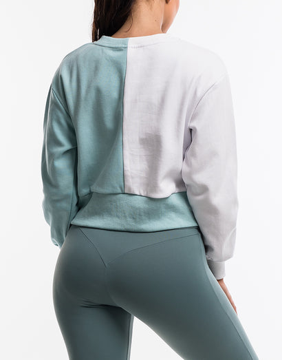 Echt Tempo Jumper - White/Blue