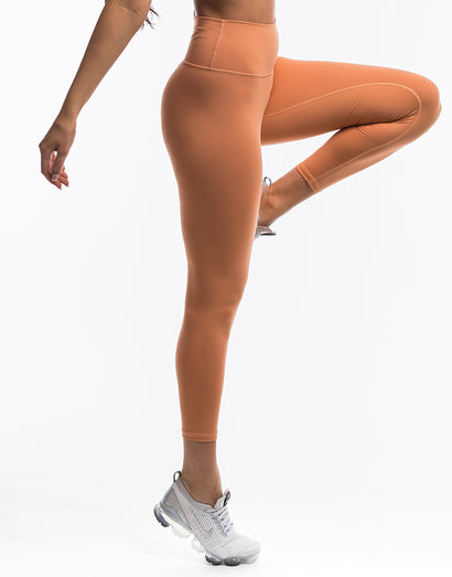 Echt Force Scrunch Leggings - Peach