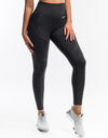 Arise Leggings - Pirate Black