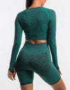Echt Sensory Long Sleeve - Aqua Green