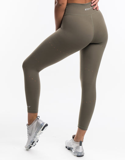 Echt Air Laser Leggings - Olive