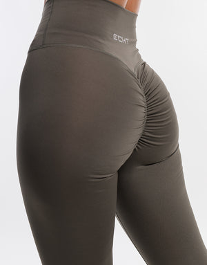 Echt Force Scrunch Leggings - Olive