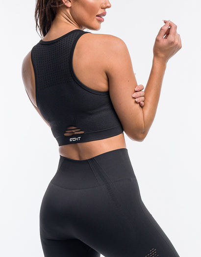 Arise Crop Top - Black