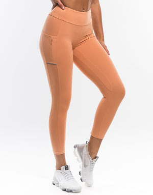 Echt Purpose Leggings - Peach