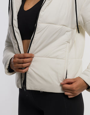 Essentia Padded Jacket - White