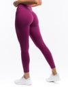 Echt Force Scrunch Leggings - Boysenberry