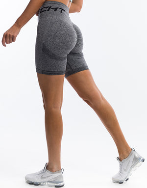Arise Scrunch Shorts - Charcoal