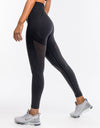 Arise Ombre Leggings - Black