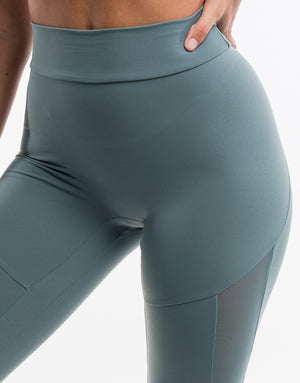Echt Merge Leggings - Faint Blue