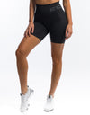 Arise Scrunch Shorts - Pirate Black