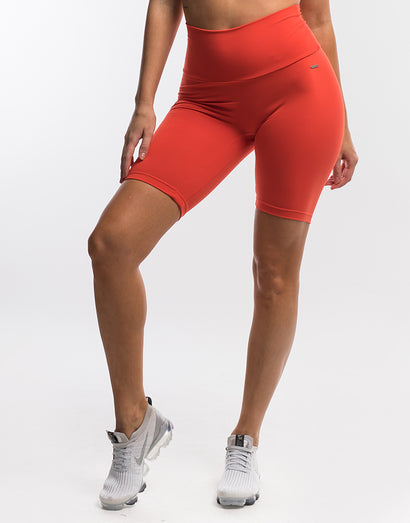 Echt Scrunch Bike Shorts II - Grenadine Red