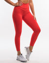 Echt Tempo Leggings - Blush Red