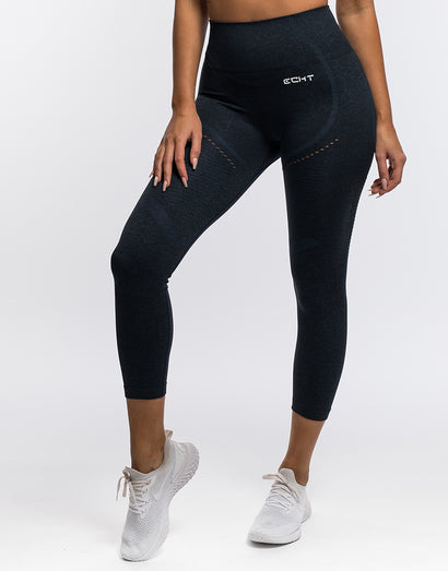 Arise Crop Leggings - Navy