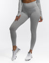Echt Flex Scrunch Leggings - Grey Stripe