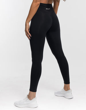 Echt Force Scrunch Leggings - Black