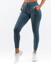 Ladies Tapered Joggers - Teal