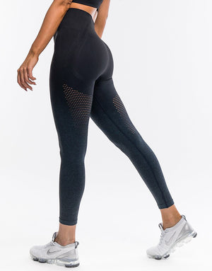 Arise Ombre Leggings - Navy