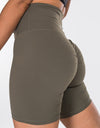 Echt Force Scrunch Bike Shorts - Olive