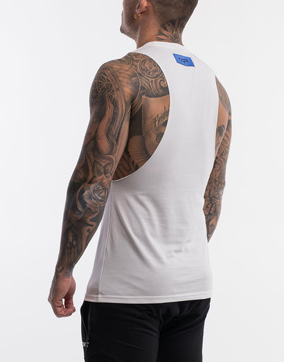 Echt On The Fly Muscle Top - White