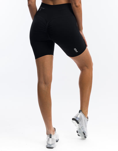 Arise Scrunch Shorts - Black