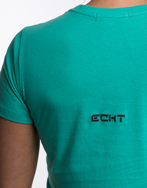 Echt Essentials Tee - Aqua