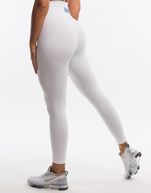 Echt On The Fly Leggings - Polar White