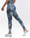 Echt Coral Scrunch Leggings - Dark Blue