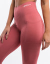 Echt Power Function Leggings - Dusty Cedar