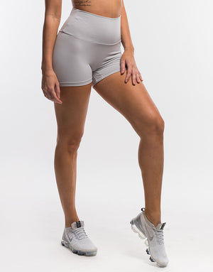 Echt Force Scrunch Shorts II - Cloud Grey
