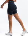 Arise Scrunch Shorts - Navy