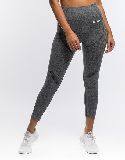 Arise Crop Leggings - Charcoal