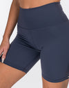 Echt Force Scrunch Bike Shorts - Blue Steel