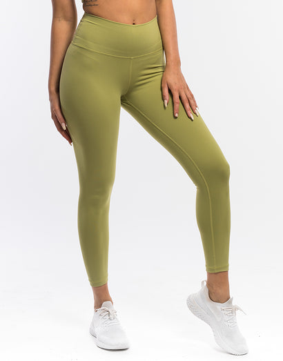 Echt Force Scrunch Leggings - Lime