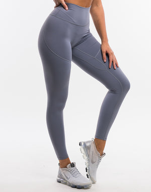 Echt On The Fly Leggings - Quicksilver