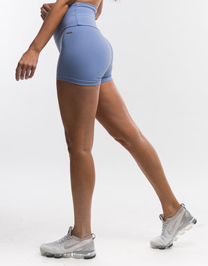 Echt Force Scrunch Shorts II - Bel Air Blue
