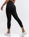 Arise Crop Leggings - Black