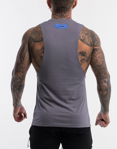 Echt On The Fly Muscle Top - Quicksilver