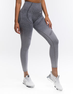 Arise Ombre Leggings - Charcoal